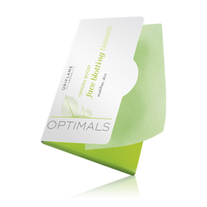 27670 - Optimals Oxygen Boost Face Blotting Tissues isi 50 lembar