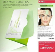 Optimals Oxygen Boost Face Blotting Tissues